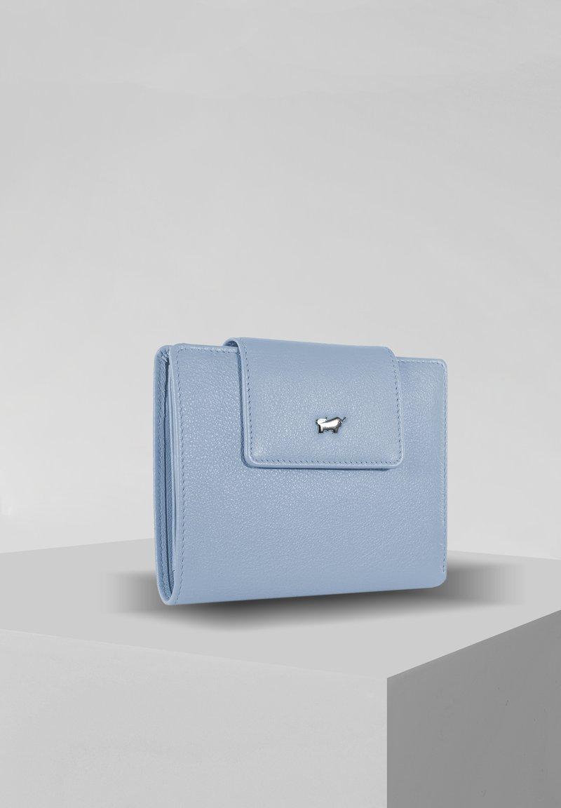 Braun Büffel - MIAMI  - Wallet - blue bell