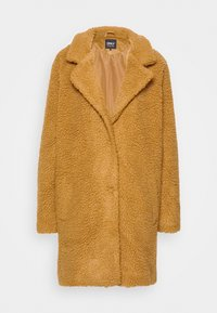 ONLY - Short coat - toasted coconut - 4