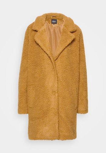 ONLAURELIA SHERPA COAT  - Short coat - toasted coconut