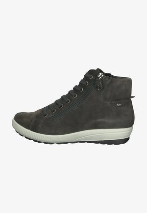 Sneakersy wysokie - dunkelgrau/grau