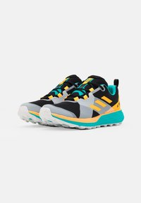 adidas Performance - TERREX TWO LIGHTSTRIKE RUNNING SHOES - Obuwie do biegania Szlak - hi-res aqua/core black/solar gold - 1
