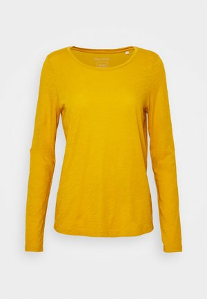 LONG SLEEVE ROUND NECK - Long sleeved top - mellow curry