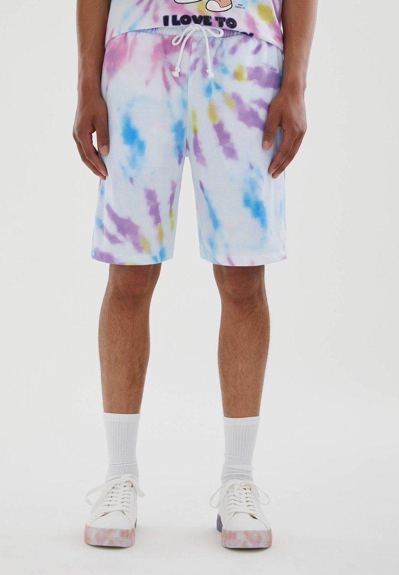 PULL&BEAR - Pantaloni sportivi - mauve