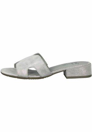 JANA - Sandalias planas - grey/silver