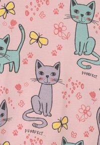 Lindex - LONG CAT  - Print T-shirt - light dusty pink - 2