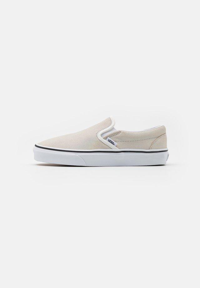 CLASSIC UNISEX - Nazouvací boty - metallic/blanc de blanc