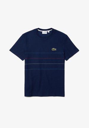 T-shirt imprimé - blau / blau / rot / weiß