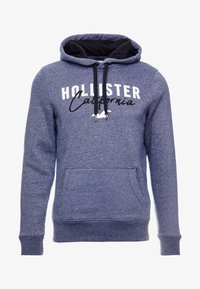 Hollister Co. - TECH LOGO - Hoodie - textural navy - 4