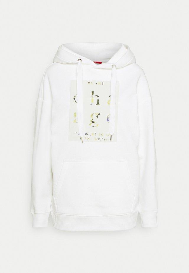 Jersey con capucha - off-white