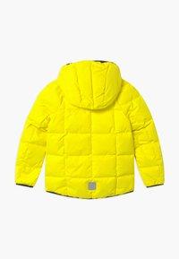 Reima - JORD UNISEX - Down jacket - lemon yellow - 1