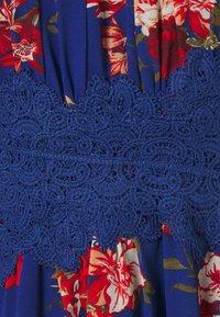 VILA PETITE - VIMILINA FLOWER DRESS PETITE - Day dress - mazarine blue - 2