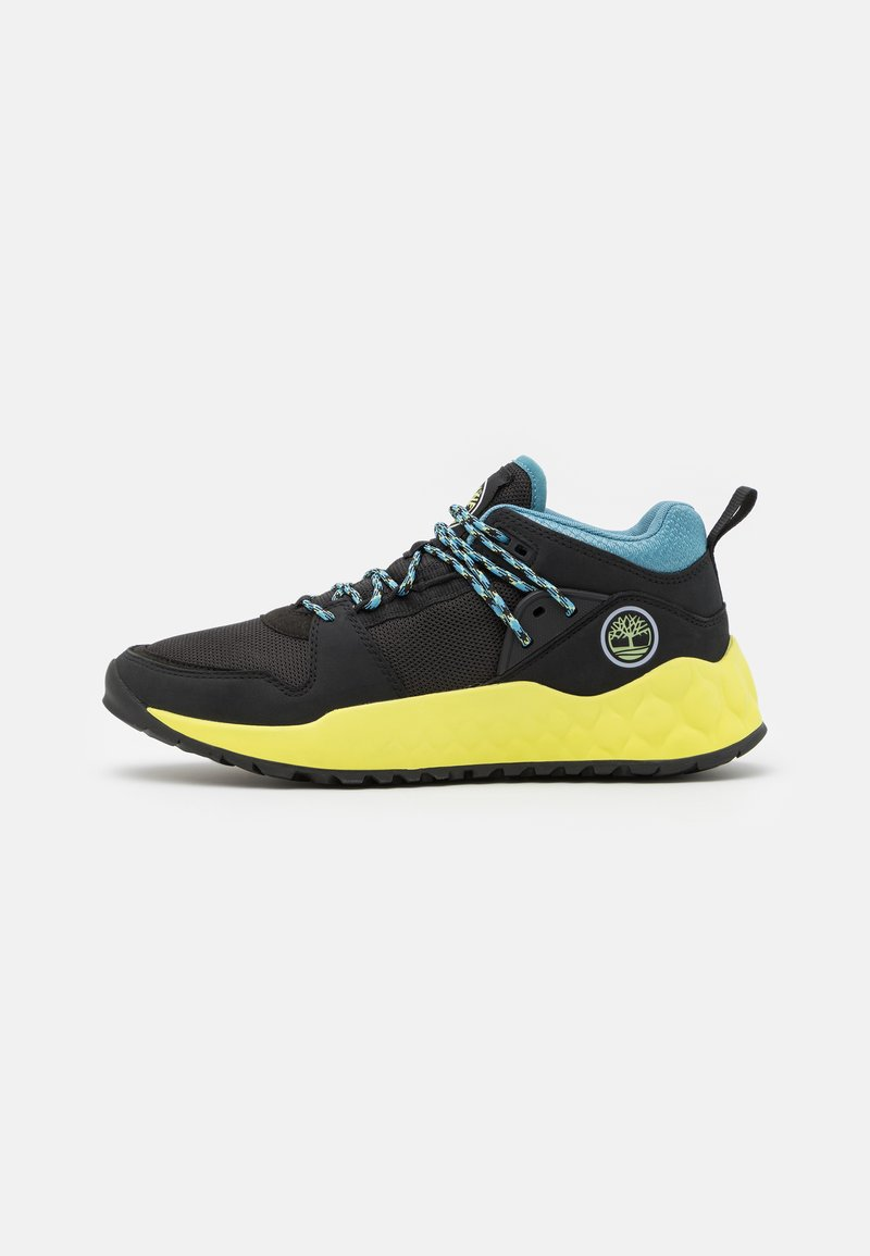 Timberland - SOLAR WAVE - Baskets basses - black/lime