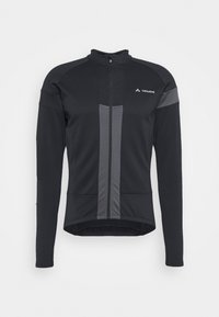 Vaude - MENS MATERA TRICOT - Long sleeved top - black - 5