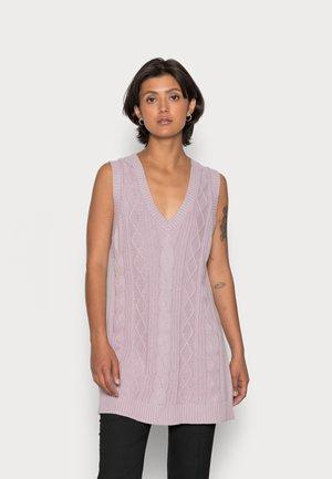 ROBIN DRESS - Jumper dress - lilac purple dusty light