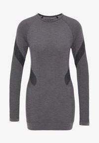 PYUA - Long sleeved top - grey melange - 5