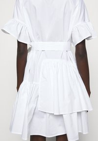 TWINSET - ABITO MORBIDO IN COMFORT - Shirt dress - bianco ottico - 4