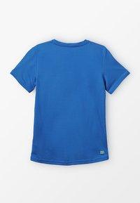 BIDI BADU - EVIN TECH ROUND NECK TEE - Printtipaita - blue/neon green - 1