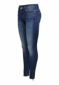 ONLY - Jeans Skinny Fit - dark blue denim - 1