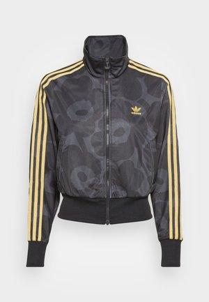 TRACK - Training jacket - black/carbon
