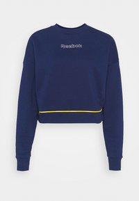 PIPING PACK CREWNECK - Sweatshirt - vector navy