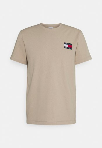 BADGE TEE - T-shirt med print - soft beige