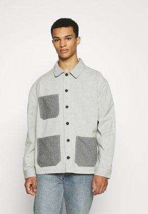 EBRO JACKET - Denim jacket - light blue denim