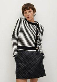 Mango - RECOCO - A-line skirt - black - 0