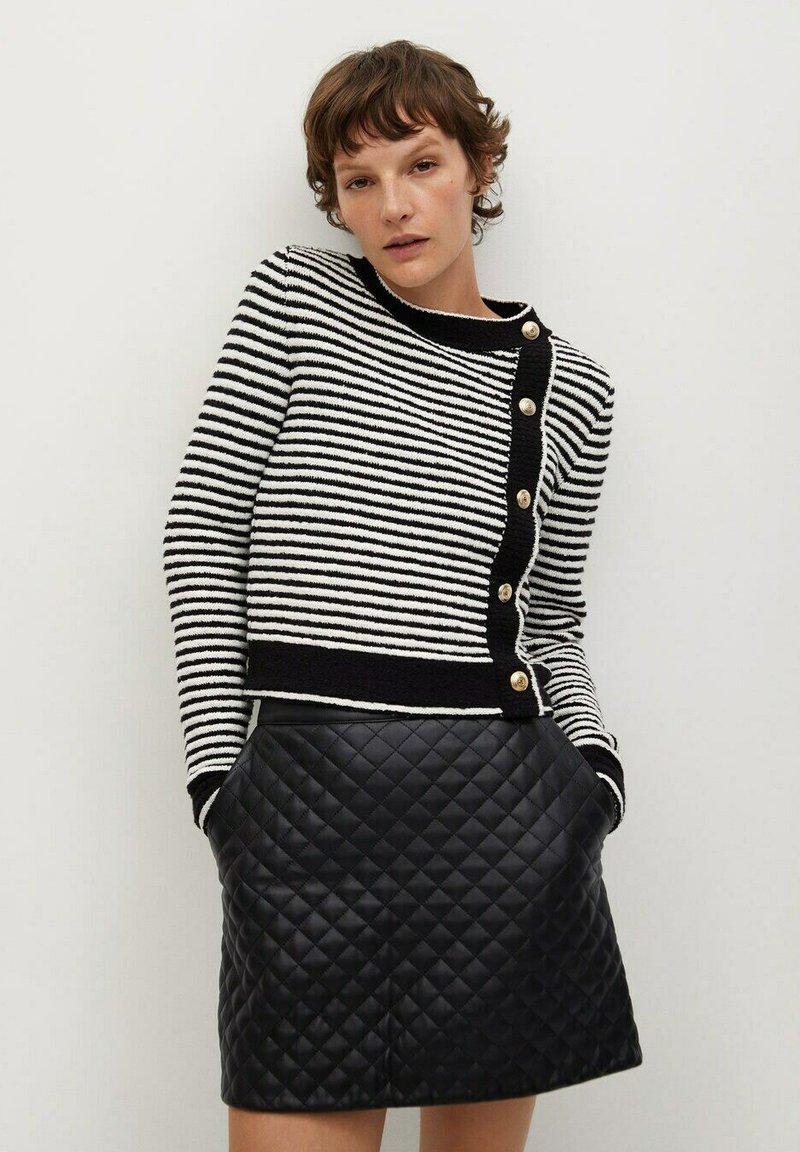 Mango - RECOCO - A-line skirt - black