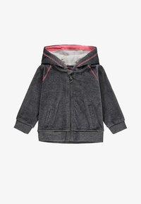 Kanz - Zip-up sweatshirt - dark grey - 0