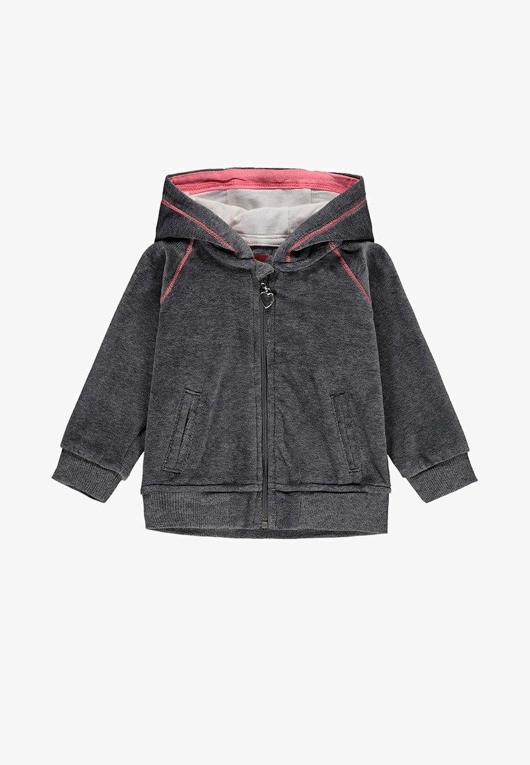 Kanz - Zip-up sweatshirt - dark grey