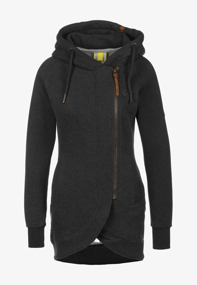 Zip-up hoodie - moonless
