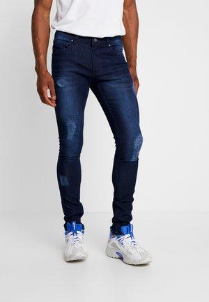 DISTRESSED  - Jeans Skinny Fit - dark wash