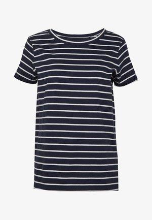 T-shirts med print - navy