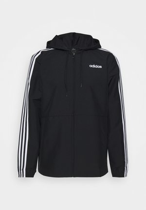 ESSENTIALS SPORTS JACKET - Veste de survêtement - black/white