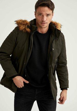 SLIM FIT DEFACTO - Winter jacket - khaki