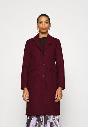 PAMELA COAT - Płaszcz wełniany /Płaszcz klasyczny - maroon