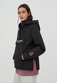 PULL&BEAR - PACIFIC REPUBLIC - Winter jacket - black - 3