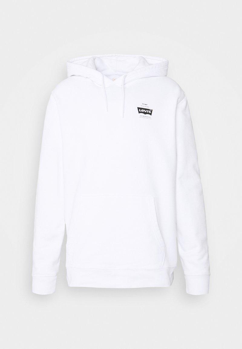 Levi's® - GRAPHIC HOODIE UNISEX - Hoodie - po2 white