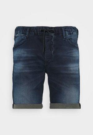 IRICK  - Denim shorts - blue denim
