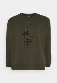Polo Ralph Lauren Big & Tall - DOUBLE TECH - Sweatshirt - company olive - 4