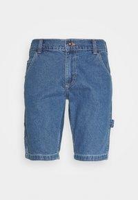 HILLSDALE - Denim shorts - classic blue