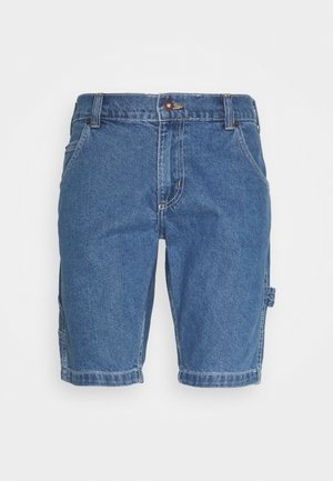 HILLSDALE - Jeansshorts - classic blue
