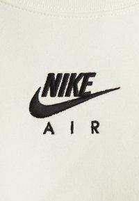 Nike Sportswear - AIR CREW  - Sweatshirt - coconut milk/black - 5