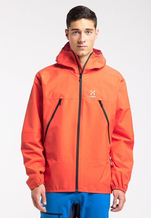 SPIRA  - Hardshell jacket - habanero