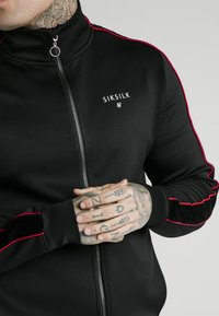 SIKSILK - IMPERIAL ZIP THROUGH FUNNEL NECK - Giacca sportiva - black - 3