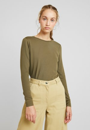 VMAVA - Long sleeved top - ivy green