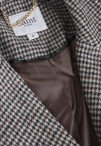 Saint Tropez - CATESZ JACKET - Winter jacket - black beauty houndstooth m - 7