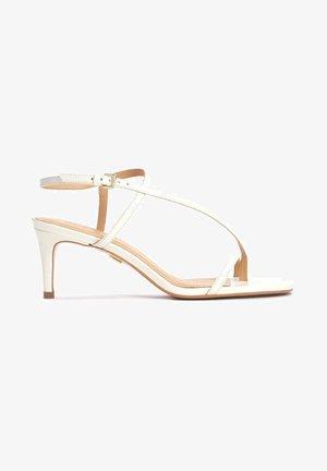 ELAINE - Sandals - white