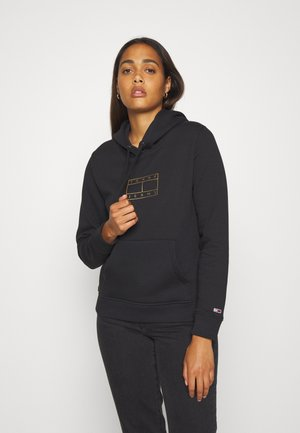 ESSENTIAL LOGO HOODIE - Sweat à capuche - black