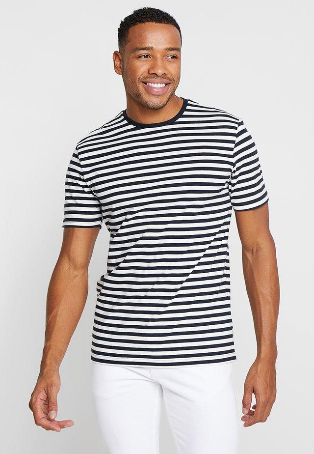 ONSJAMIE LIFE SS STRIPE REG TEE NOO - T-shirt imprimé - dark navy